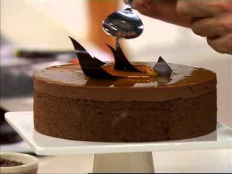 + Chocolate - Torta de naranjas y chocolate por Osvaldo Gross chef argentino. receta