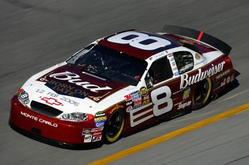 This Born on Date car Jr drove to the win in the Daytona500 in 2004.
