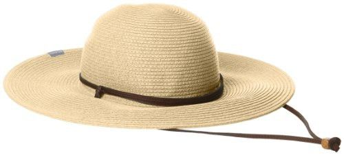 e488f095a Columbia Women's Global Adventure Packable Hat, Straw, Small/Medium ...