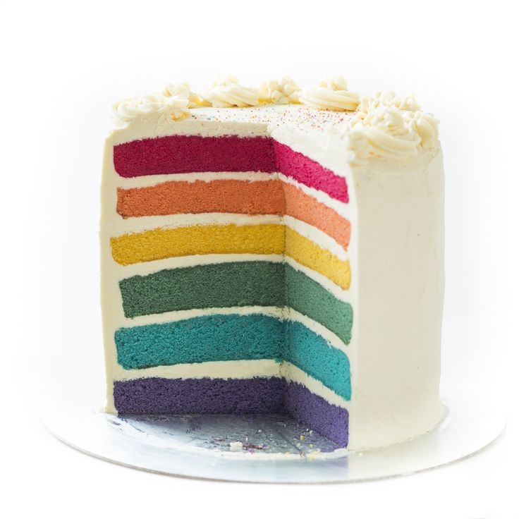 Rainbow Cake with Buttercream filling. Made by Sweet Tooth CPT https://www.facebook.com/sweettoothcpt Photo by Willem Lourens