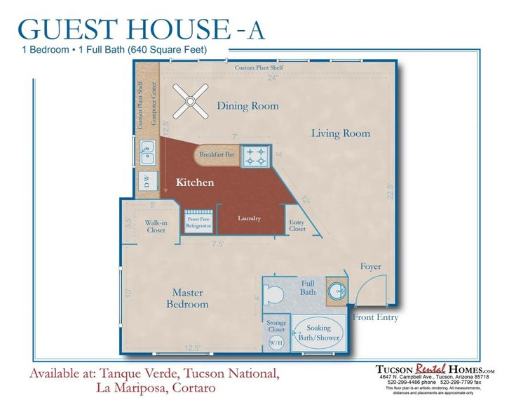 Tucson Rental Homes Offers The Guesthouse Model With