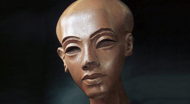 Kopf einer Tochter Echnatons, Ägyptisches Museum und Papyrussammlung, Staatliche Museen zu Berlin © bpk Bildagentur, Foto Jürgen Liepe