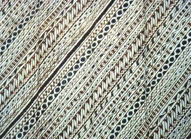 Gambar Batik Yogyakarta - motif Udang Liris
