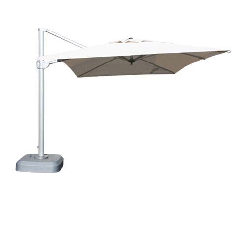 Mercury 3.5 x 3m  <br/> Cantilever Parasol <br/>  Natural (Aluminium)