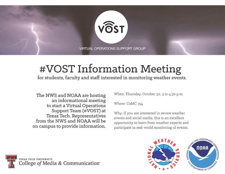 Hosting a information session to create a #VOST here in West Texas!  Stop by next week @TTU_MCOM Embedded image permalink