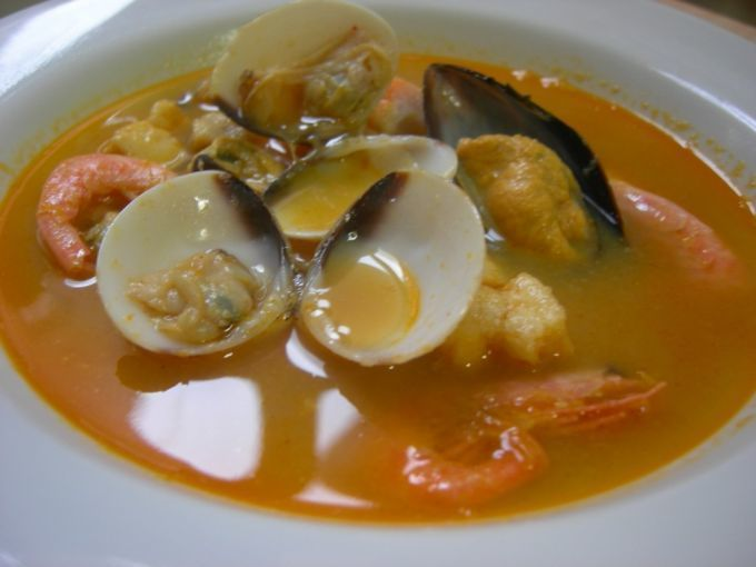 Sopa De Marisco Y Pescado Receta Petitchef Receta Sopa De Mariscos Sopa De Mariscos Receta Mariscos