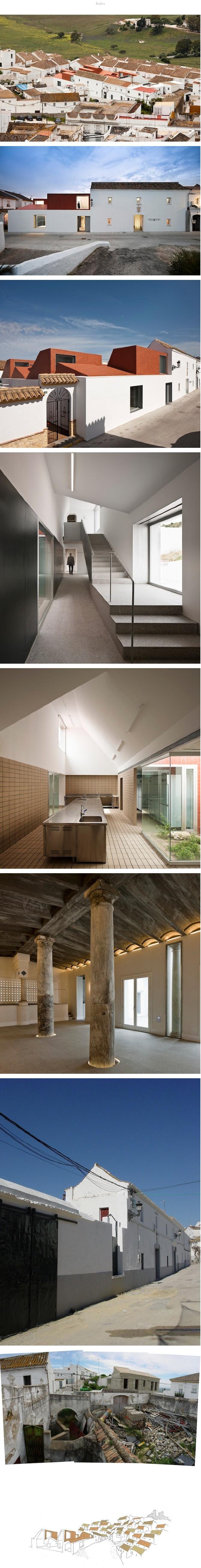 Professional cooking school in ancient slaughterhouse by - Arquitectos cadiz ...