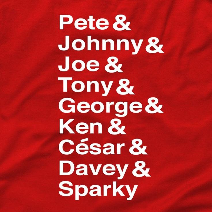 Pete, Johnny, Joe, Tony, George, Ken, Ceasar, Davey, Sparky | Cincyshirts.com, shirt