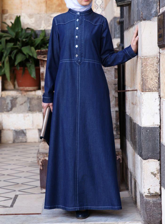 SHUKR USA | Lightweight Denim Dress