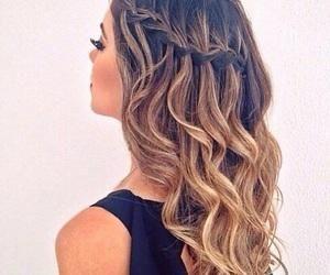 #braid #curls #ombre