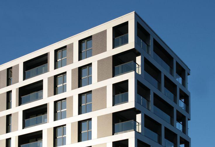 Neubau eines Wohn- und Verwaltungsgebäudes Arnulfpark MI6 - muenchenarchitektur