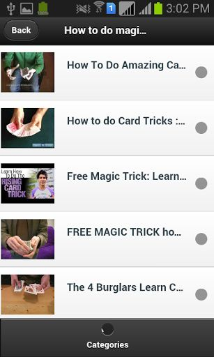 We represent a different type of magic in Single Application.<br>Using our Apps you  impress all your friends,children etc.<br>You're looking for something to impress people with?<br>All Magic is working differently & also all are working without touch the Phone.<p><br>Then this is the app for you! Use the Magic fun and Learn to learn awesome magic tricks,magic video.<p>The apps teaches you tricks in Three categories:<br>-Magic Tricks<br>-Magic Tricks With Video<br>-Magic Phone<p>Magic…
