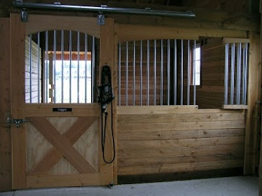 35 best reducing stall boredom images on pinterest horse for Horse stall door plans