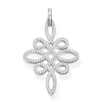 A Love Knot #pendant for your #weddingdress. Which symbol could be more beautiful for the #romantic #bride? http://www.thomassabo.com/EU/default/go?target=Product-Show&pid=PE625