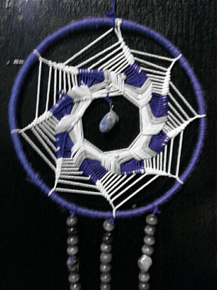Atrapasueño espiral