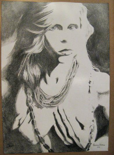 Lario Marx - Portrait sketch by Jessica Storme