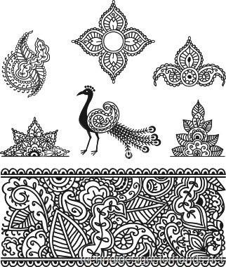 Simple Henna Designs–How to make fast and easy henna tattoo designs? - Tattoos - Zimbio