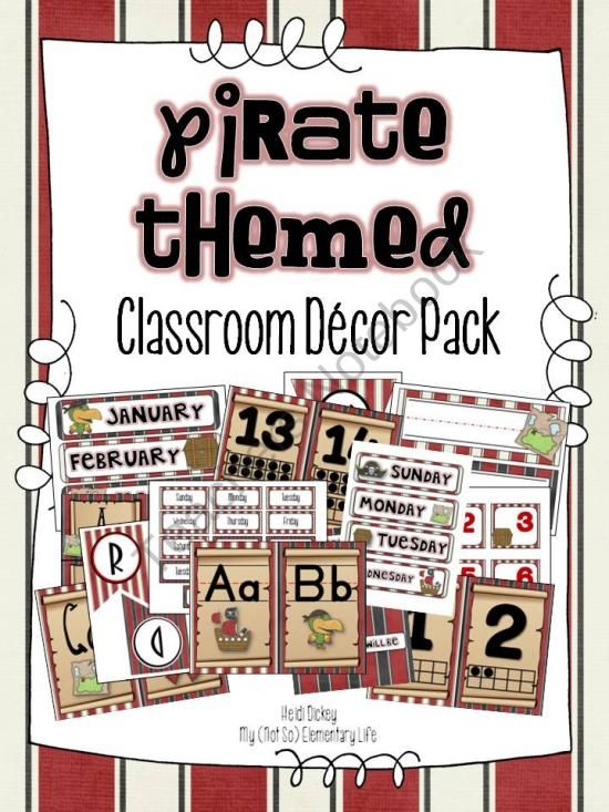 Classroom Decor Resources ~ Best images about pirate theme on pinterest