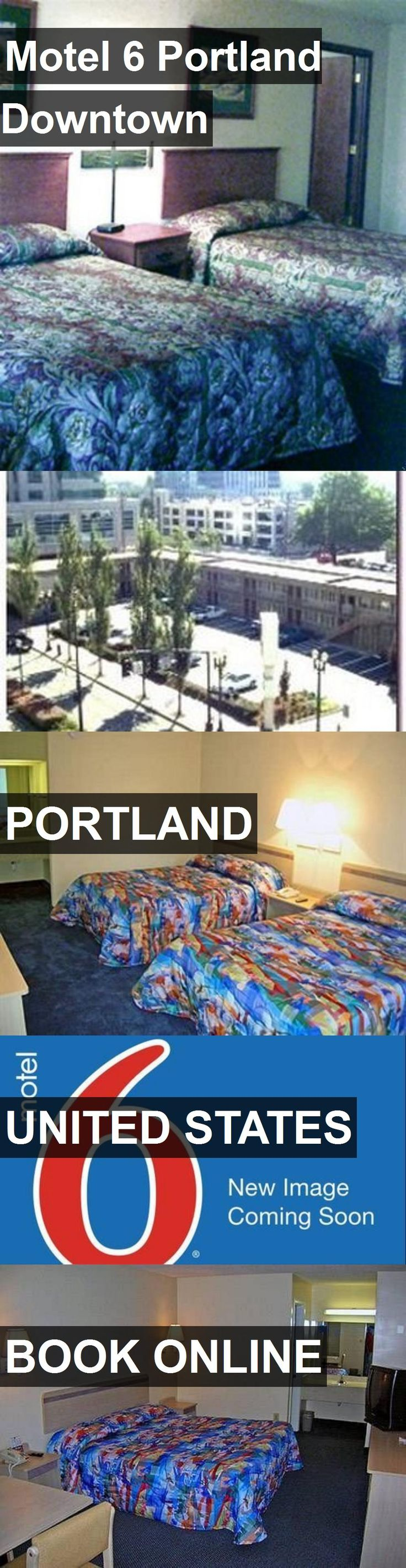 Hotel Motel 6 Portland Downtown in Portland, United States. For more information, photos, reviews and best prices please follow the link. #UnitedStates #Portland #travel #vacation #hotel