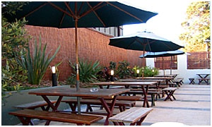 Golden Barley Hotel, Enmore  - great outdoor eating area for kids