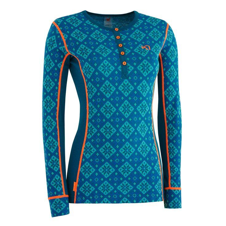 ROSE LS - Wool underwear - Wool & Technical underwear - SHOP | Kari Traa