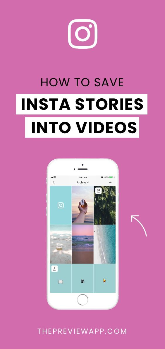 save instagram story videos