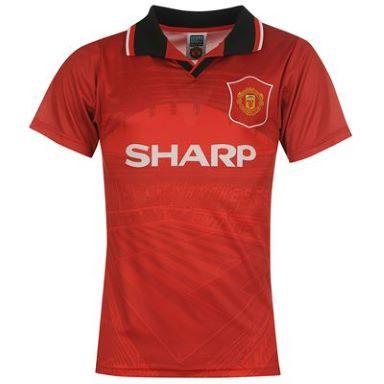 Score Draw Draw MUFC 96H Football Shirt Mens - SportsDirect.com