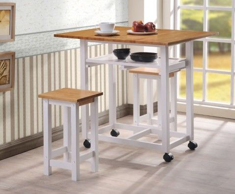 Lifton Folding Breakfast Table And Stools   UK Delivery