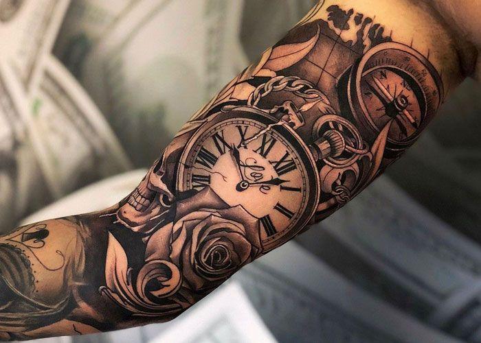 Coole Arm Tattoo Ideen - Beste Arm Tattoos für Männer