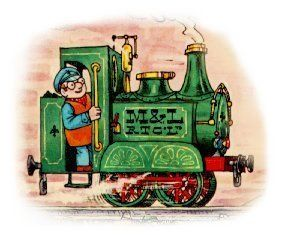 Ivor the Engine - can you remember the noise he made? Oliver Postgate is the voice of my childhood.