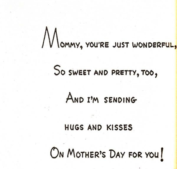 Sweet Things To Write On Mothers Day Cards Mothers Day Card Messages What To Write In A Mothers Day Card