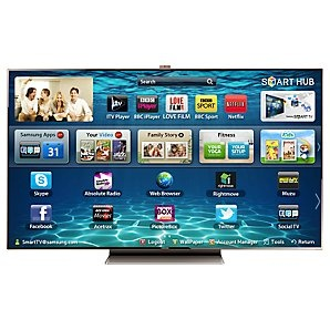 """Samsung UE75ES9000 LED HD 1080p 3D Smart TV, 75"""" with Freeview/Freesat HD and Voice/Motion Control"""