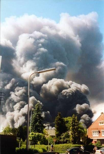 Enschede Gemeente Vuurwerkramp Foto's