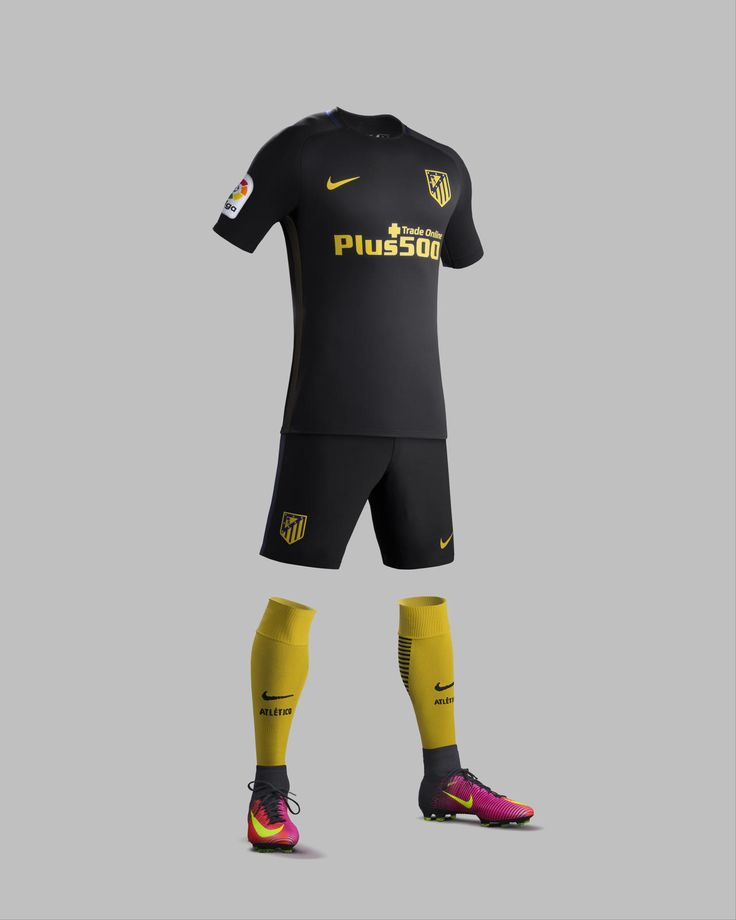 Camisas do Atlético de Madrid 2016-2017 Nike Reserva kit