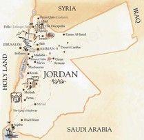 Giordania, Wadi Rum, Wadi Mujib, Petra, Jerash