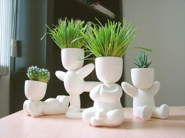 Nice Family Of Flower Pots!