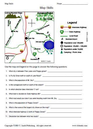 Best 25+ Map Skills ideas on Pinterest | Maps maps maps, Teaching ...