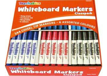 Teachables Whiteboard Marker Classpack of 144