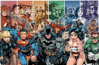 DC Comics Team Superheroes Collage 22x34 Poster Print Collections Poster Print, 34x22 Comic Poster Print, 34x22 by Poster Revolution, http://www.amazon.com/dp/B003A5Y5OE/ref=cm_sw_r_pi_dp_SARYqb0A3CRNA