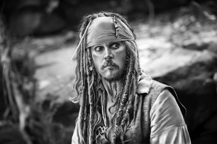 Jack Sparrow- digital painting