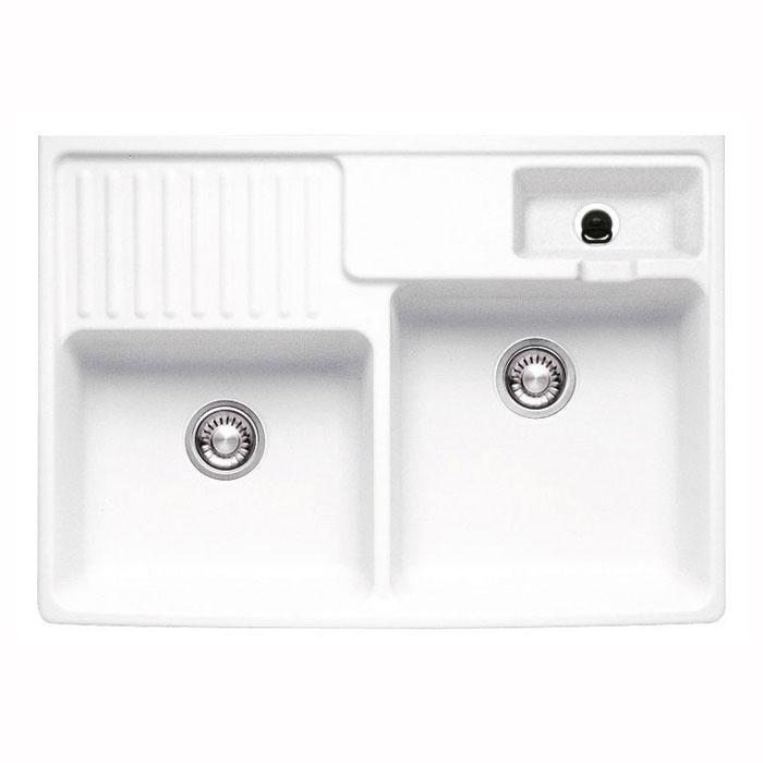 Bosch Kitchen Sinks : ... Kitchen Sink, 2.5 Bowl, Left Hand Drainer, White. Brand: Franke. Ma