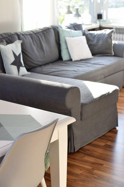 Die besten 25+ Ikea ecksofa Ideen auf Pinterest Ikea sofa bezug - ikea einrichtung ektorp