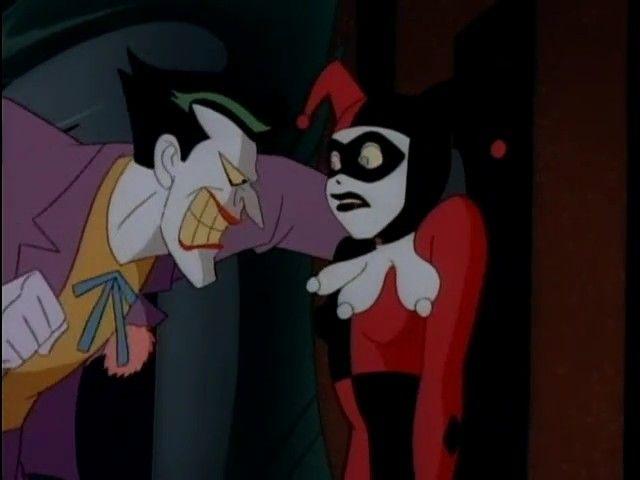 batman la serie animada harley ivy joker and harley