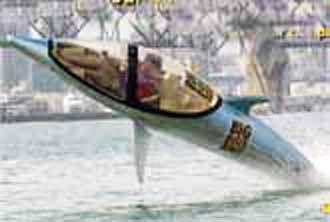 """Seabreacher X"" Personal Submarine (video)"
