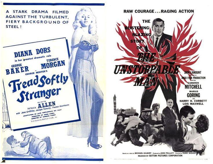 New Beverly Cinema - November 19 & 20: Tread Softly STranger // The Unstoppable Man