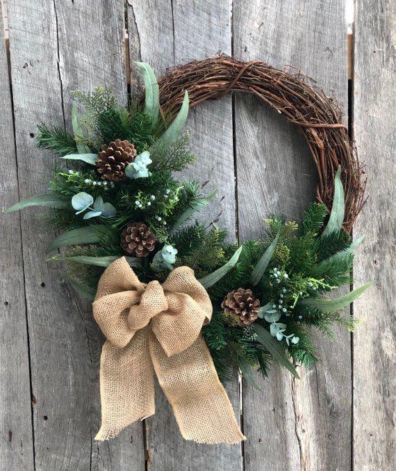 23++ Artificial christmas wreaths front door ideas