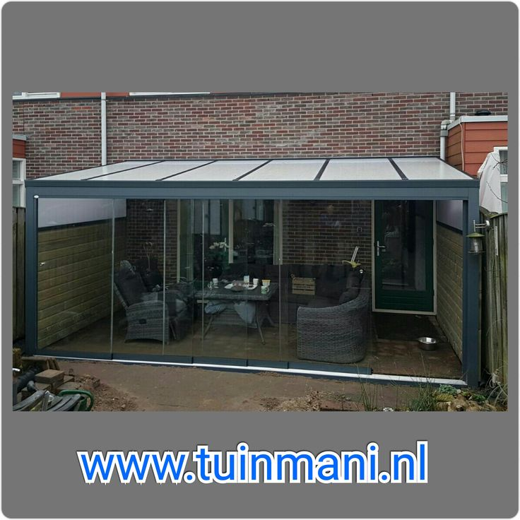 143 best aluminium veranda terrasoverkapping tuinmani images on pinterest om - Buiten terras model ...