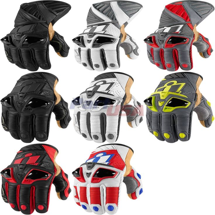 Icon Hypersport Pro Glove Leather Vented