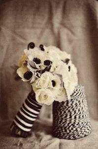 anemone bridal boquets