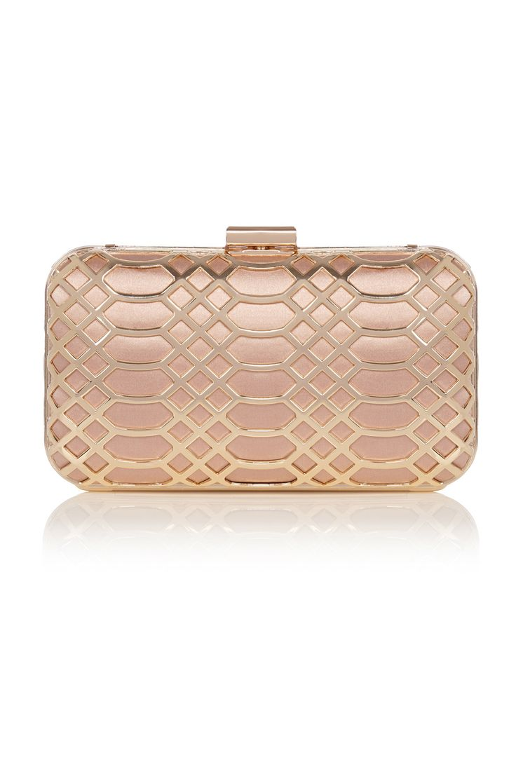 All Accessories | Metallics ROSE GOLD CLUTCH | Coast Stores Limited